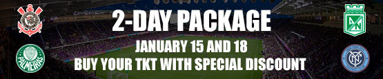 Florida Cup 2-Day Package. Buy your ticket with special discount!